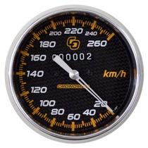 Velocímetro Mecânico Cronomac 100mm / 260km/h