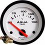 Termômetro Água 52mm Sensor Motor Led Street Branco Cronomac