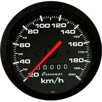 Velocímetro 100mm Street Gm Opala Pick-up Chevette Cronomac