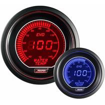 Temperatura Água Lcd Digital Eletr 52mm Prosport Azul Vermel