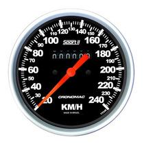 Velocímetro Mec. Sport 2 Opala Pick-up Chevette - Cronomac