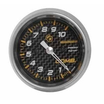 Manômetro 60mm Pressão Combustível 10kg Carbono - Cronomac