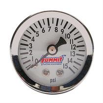 Manometro Pressao De Combustivel P Fuel Line 0-15 Psi Cromo