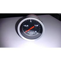 Manometro Pressao Turbo 2 Kg Cronomac Linha Sport 52mm