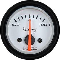 Amperímetro Willtec 52mm +-100a Medidor Bateria Painel Led