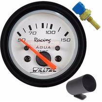 Medidor Temperatura Água Willtec 52 Sensor Copo Carro Motor