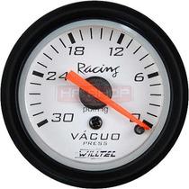 Vacuômetro Willtec 52mm Medidor Carro Bomba Pressão Carro