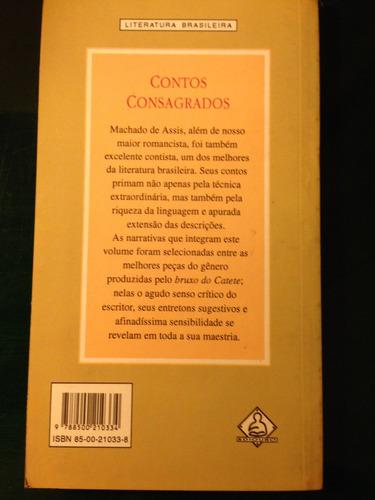 Contos Consagrados - Machado De Assis