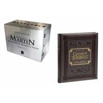 Box Guerra Dos Tronos ( 5 Livros) + Guia Hbo Frete Grátis