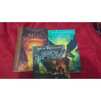 Coleção Percy Jackson Kson Semi Novos R$10 Cada Livro
