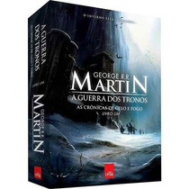 Livro A Guerra Dos Tronos - As Crônicas De Gelo E Fogo - 1°