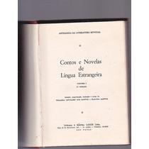 Livro - Contos E Novelas De Lingua Estrangeira - 1963