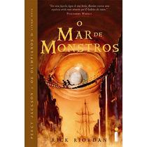 Livro O Mar De Monstros Coleção Percy Jackson Livro Dois