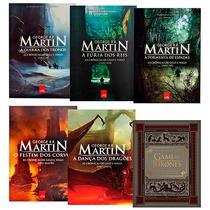 Kit Livros - As Crônicas De Gelo E Fogo + Game Of Thrones