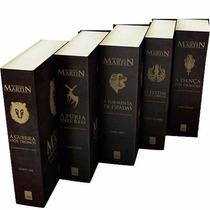 Kit As Crônicas De Gelo E Fogo 5 Livros - Guerra Dos Tronos