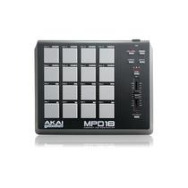 Mpd18: Controlador Midi/usb Mpd 18 - Akai Promoção!