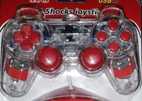 Controle Joystick Para Pc Computador Formato De Play 2 - Usb
