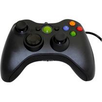 Controle Com Fio Xbox 360 Pc Slim Joystick Cabo Usb Console