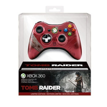 Novo Controle Wireless Tomb Raider Lit. Edition - Xbox 360