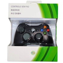 Controle Para Video Game Xbox 360 Wireless Sem Fio Fier