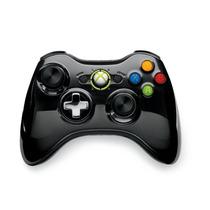 Novo Controle Wireless Cromado Special Edition Preto Xbox360