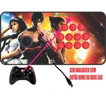 Controle Arcade Xbox 360 / Pc Sem Analogico Botões De Nylon!