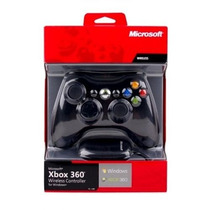 Controle Xbox Original Sem Fio Wireless Receiver Usb Para Pc