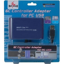 Adaptador Usb Para Pc 2 Controles De Nintendo Game Cube - Gc