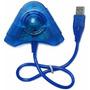 Adaptador Usb Duplo Controles Ps2 E 1 Ligue No Pc Ps3 L283pj