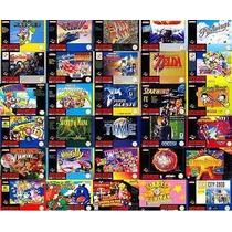 Emulador Super Nintendo + De 100 Jogos Envio Na Hora