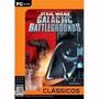Star Wars Galactic Battlegrounds Clássicos Jogo Pc Original