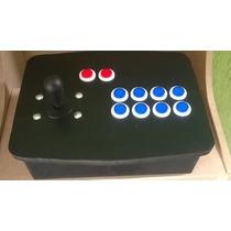 Controle Arcade Fliperama Hyperspin 100 % Mdf