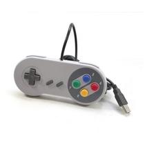 Controle Super Nintendo Usb Snes Famicon - Pc Windows Etc