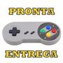 Controle Joystick Joypad Super Nintendo Super Nes Snes Pc