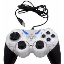 Controle Usb Analogico Dual Shock Computador Joysticks Pc