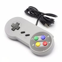 Controle Super Nintendo Snes Usb Para Pc