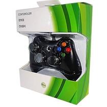 Controle Xbox 360 Pc Com Fio Feir + Brinde