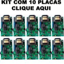 Kit 10 Placas Para Motor Modelo Universal Ppa Rossi Garen
