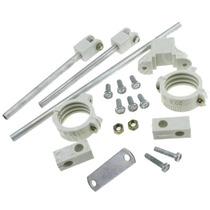 Kit Carona 2 Suportes Em Aluminio-uso Amador E Profissional
