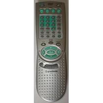 Controle Remoto Para Som Com Dvd Gradiente G-303 Original
