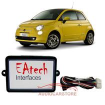 Interface Controle Som Volante Fiat 500 Dvd E Multimídia
