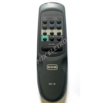 Controle Remoto Para Microsystem Som Cce Md-78 Original