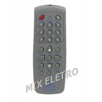 Controle Remoto Receptor De Parabólica Century Pr2010 Br2014