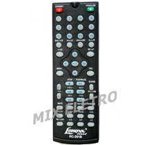 Controle Remoto Rc-201b Dvd Player Lenoxx Sound Dv-441b