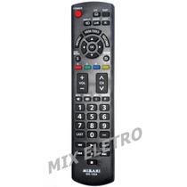 Controle Remoto Tv Led Panasonic Viera Tc-l32x5 P42x5 50pu54