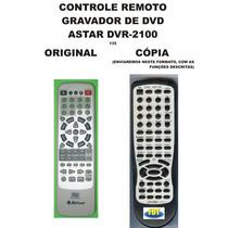 Controle Remoto Gravador De Dvd Dvd-r Astar Dvr-2100 Dvr2100