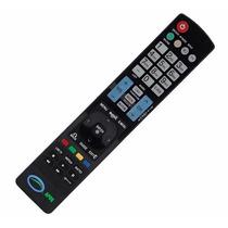 Controle Remoto Tv Lcd Led Plasma Lg Akb72914210 Akb72914221