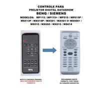 Controle Remoto Projetor Digital Datashow Benq Mp115 Mx501