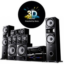 Home Sony Ht-ddw7600 7.2 3d + Controle Remoto Sony