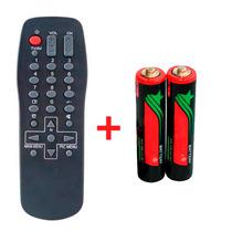 Controle Remoto Tv Panasonic Linha Tc 14 / Tc20 + Brinde